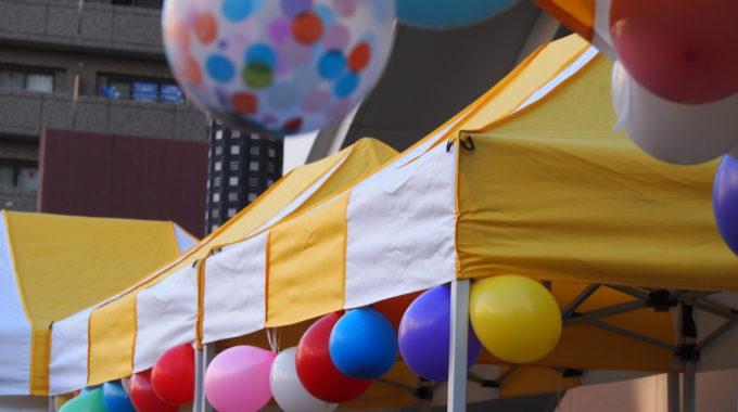 11月2日ホムフェス プレイベント「風船で会場をかざろう♪」